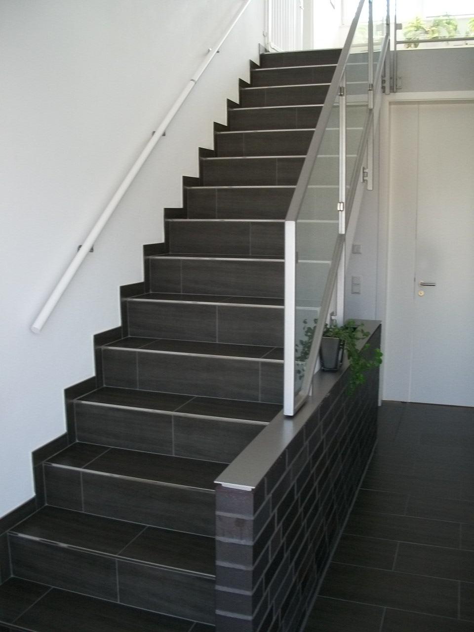 Fliesen Otterpohl Referenz Treppe
